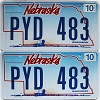 2008 Nebraska Wagon graphic pair # PYD-483