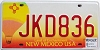 2008 New Mexico Balloon graphic # JKD836