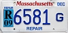 2009 Massachusetts Repair # 6581 G