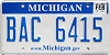 2009 Michigan graphic # BAC-6415