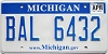 2009 Michigan graphic # BAL-6432