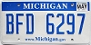 2009 Michigan graphic # BFD-6297