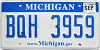 2009 Michigan graphic # BQH-3959