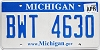 2009 Michigan graphic # BWT-4630