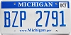 2009 Michigan graphic # BZP-2791