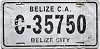 2005 Belize City Belize Central America # C-35750
