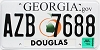 2009 Georgia Peach graphic # AZB-7688