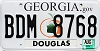 2009 Georgia Peach graphic # BDM-8768