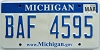2009 Michigan graphic # BAF-4595