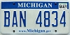 2009 Michigan graphic # BAN-4834