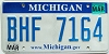 2009 Michigan graphic # BHF-7164
