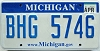 2009 Michigan graphic # BHG-5746