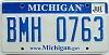 2009 Michigan graphic # BMH-0763