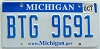 2009 Michigan graphic # BTG-9691