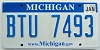 2009 Michigan graphic # BTU-7493