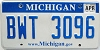 2009 Michigan graphic # BWT-3096