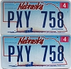 2009 Nebraska Wagon graphic pair # PXY-758