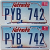 2009 Nebraska Wagon graphic pair # PYB-742