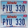 2009 Nebraska Wagon graphic pair # PYU-330
