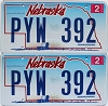 2009 Nebraska Wagon graphic pair # PYW-392
