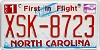 2009 North Carolina First In Flight # XSK-8723
