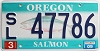 2009 Oregon Salmon graphic # 47786