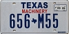 2009 TEXAS MACHINERY license plate # 656-M55