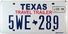 2009 Texas Travel Trailer # 5WE-289