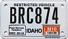 2010 Idaho Snowmobile # BRC874