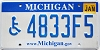 2010 Michigan Disabled graphic # 4833F5