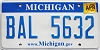 2010 Michigan graphic # BAL-5632