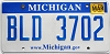 2010 Michigan graphic # BLD-3702