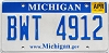 2010 Michigan graphic # BWT-4912