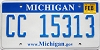 2010 Michigan graphic # CC 15313
