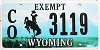 2010 Wyoming County Exempt #3119