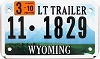 2010 Wyoming Light Trailer # 1829, Park County