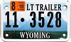 2010 Wyoming Light Trailer # 3528, Park County
