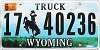 2010 Wyoming Truck #40236, Campbell County