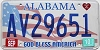 2010 Alabama God Bless America # AV29651