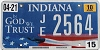 2010 Indiana In God We Trust graphic # 2564