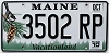 2010 Maine graphic # 3502 RP