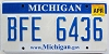 2010 Michigan graphic # BFE-6436
