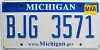 2010 Michigan graphic # BJG-3571