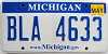 2010 Michigan graphic # BLA-4633