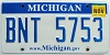 2010 Michigan graphic # BNT-5753