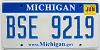 2010 Michigan graphic # BSE-9219