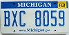 2010 Michigan graphic # BXC-8059