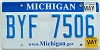 2010 Michigan graphic # BYF-7506