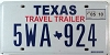2010 Texas Travel Trailer # 5WA-924