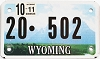 2011 Wyoming Motorcycle #502, Washakie County